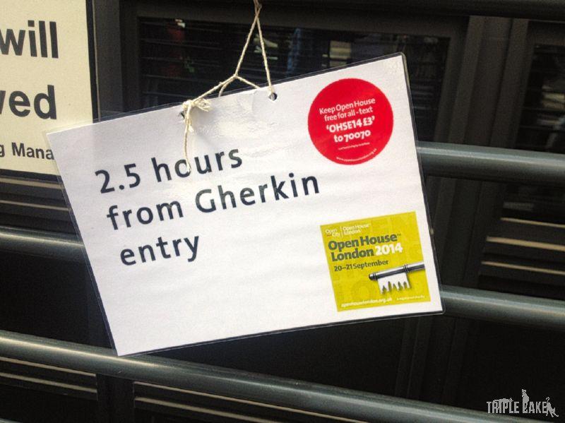 Ponad 2 godziny w kolejce do wejście / 2 hours waiting