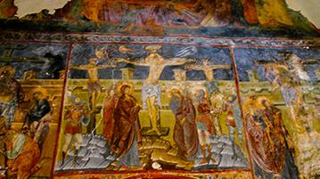 Naścienne malowidła, Rumunia