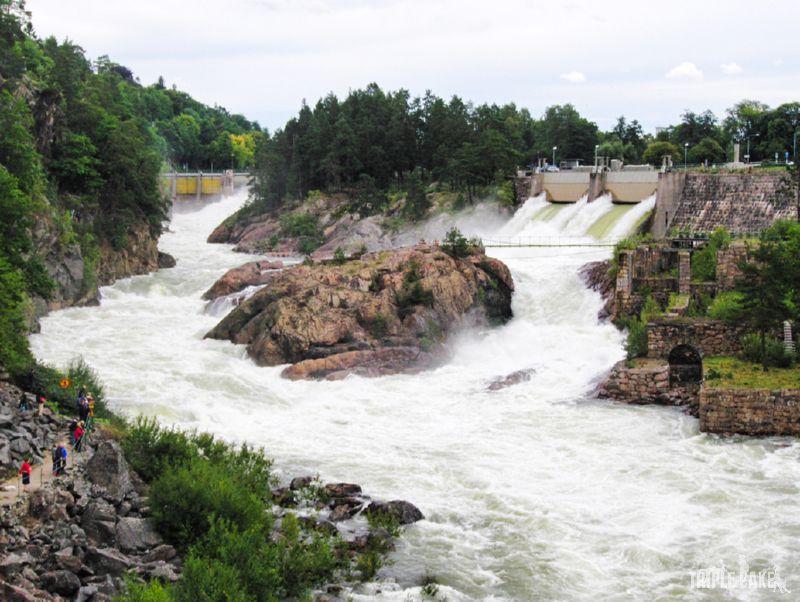 Trollhättan Waterfalls