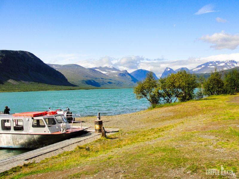 Ladtjojaure lake