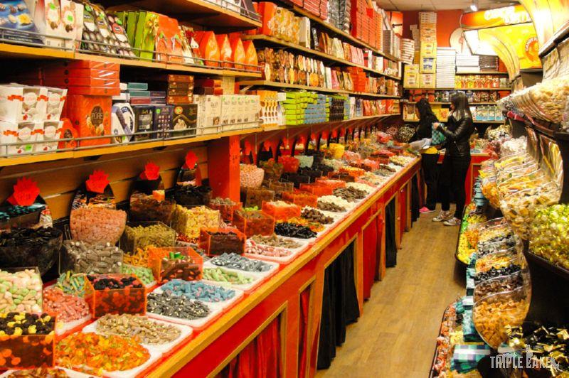 Sklep ze słodyczami (godis)
