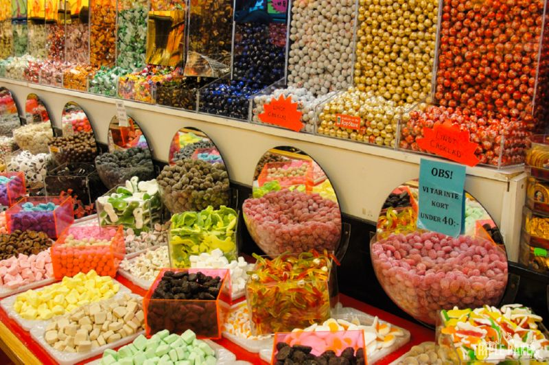 Szwedzki sklep ze słodyczami