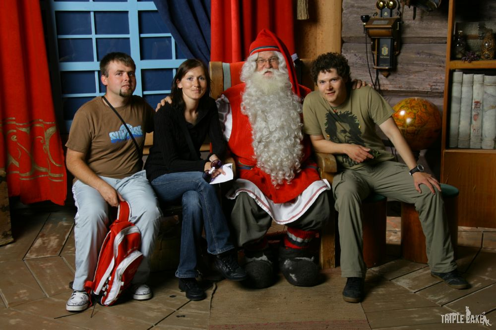 Wspólne zdjęcie ze Świętym Mikołajem
