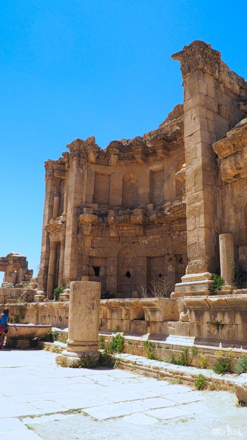 Jerash - Nimfeum / Nymphaeum