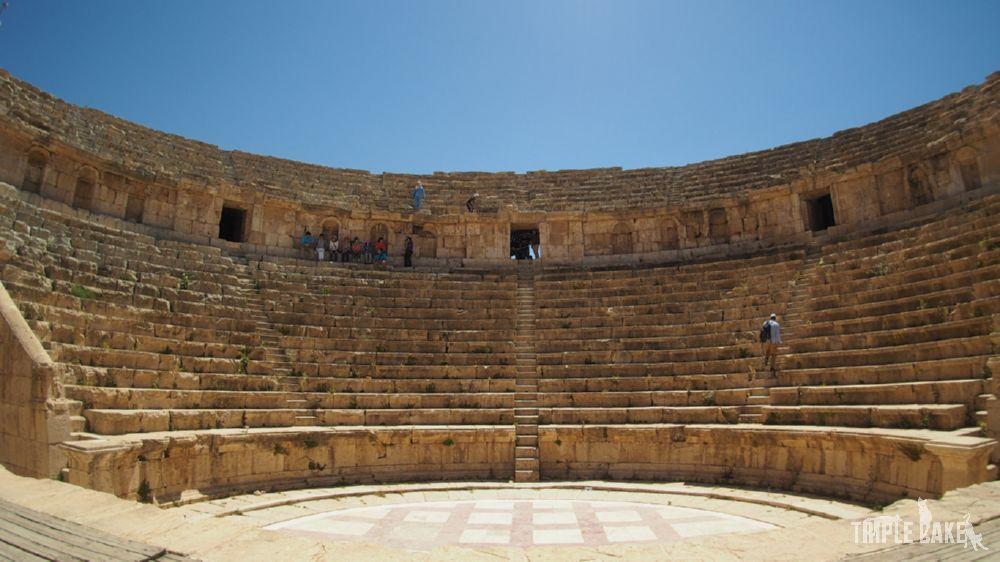 Jerash - Teatr Północny / North Theatre