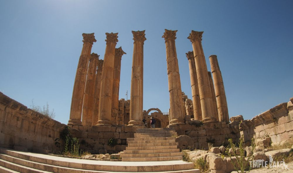 Jerash - Świątynia Artemidy / The Temple of Artemis