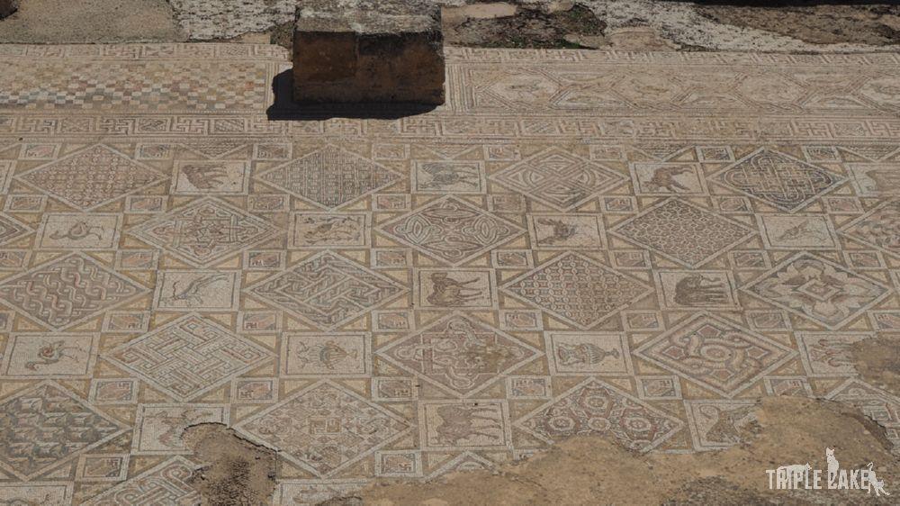 Jerash - kościół św. św. Kosmy i Damiana / Church of Saints Cosmas and Damianus