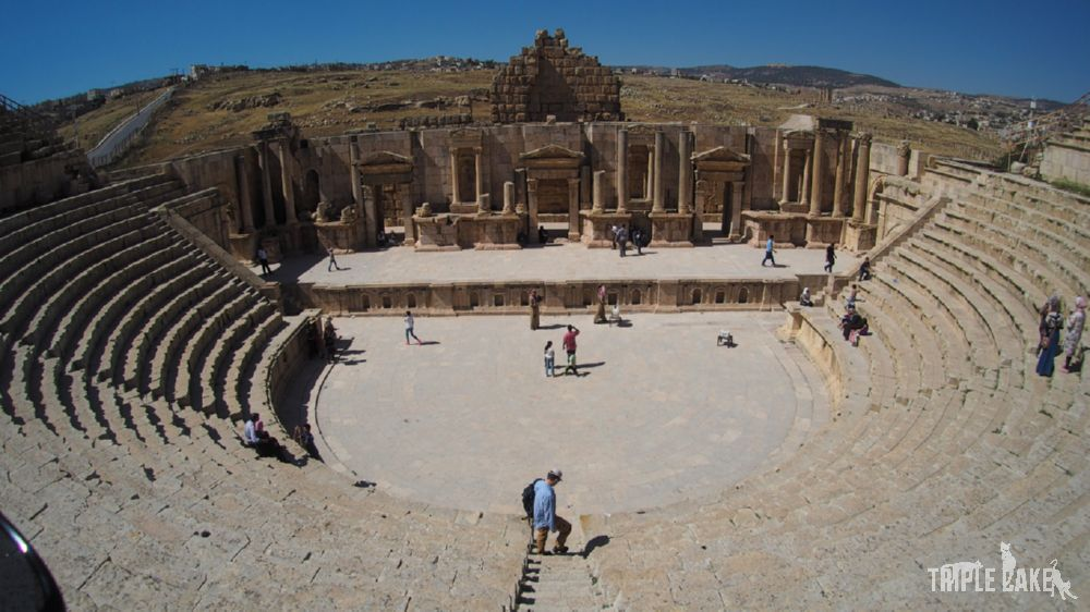Jerash - Teatr Południowy / The South Theatre