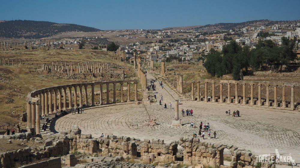 Jerash - Forum Owalne / Oval Forum