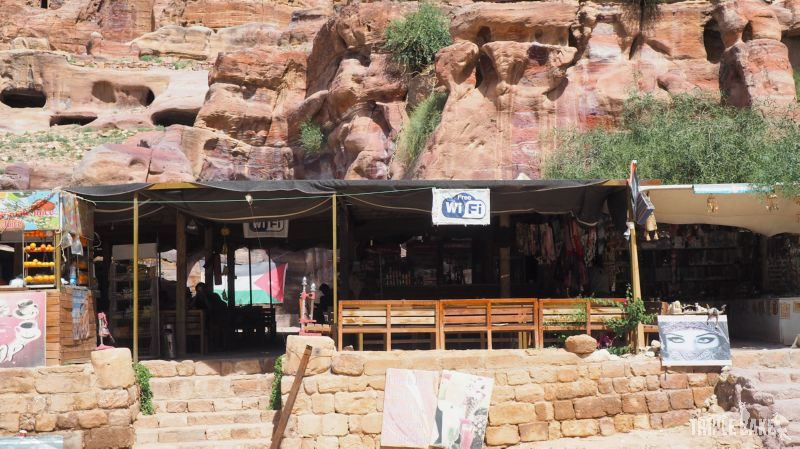 Petra, Coffee shop with WiFi / Zasięg WiFi w Petrze