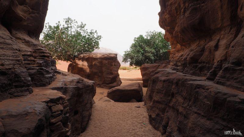 Kanion Khazali / Khazali canyon, Wadi Rum