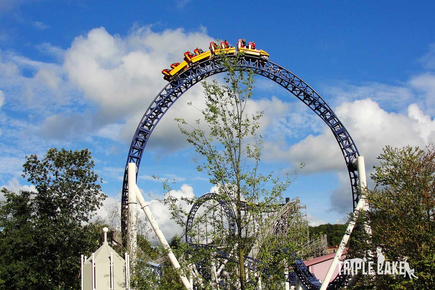 Kanonen roller coaster, Liseberg