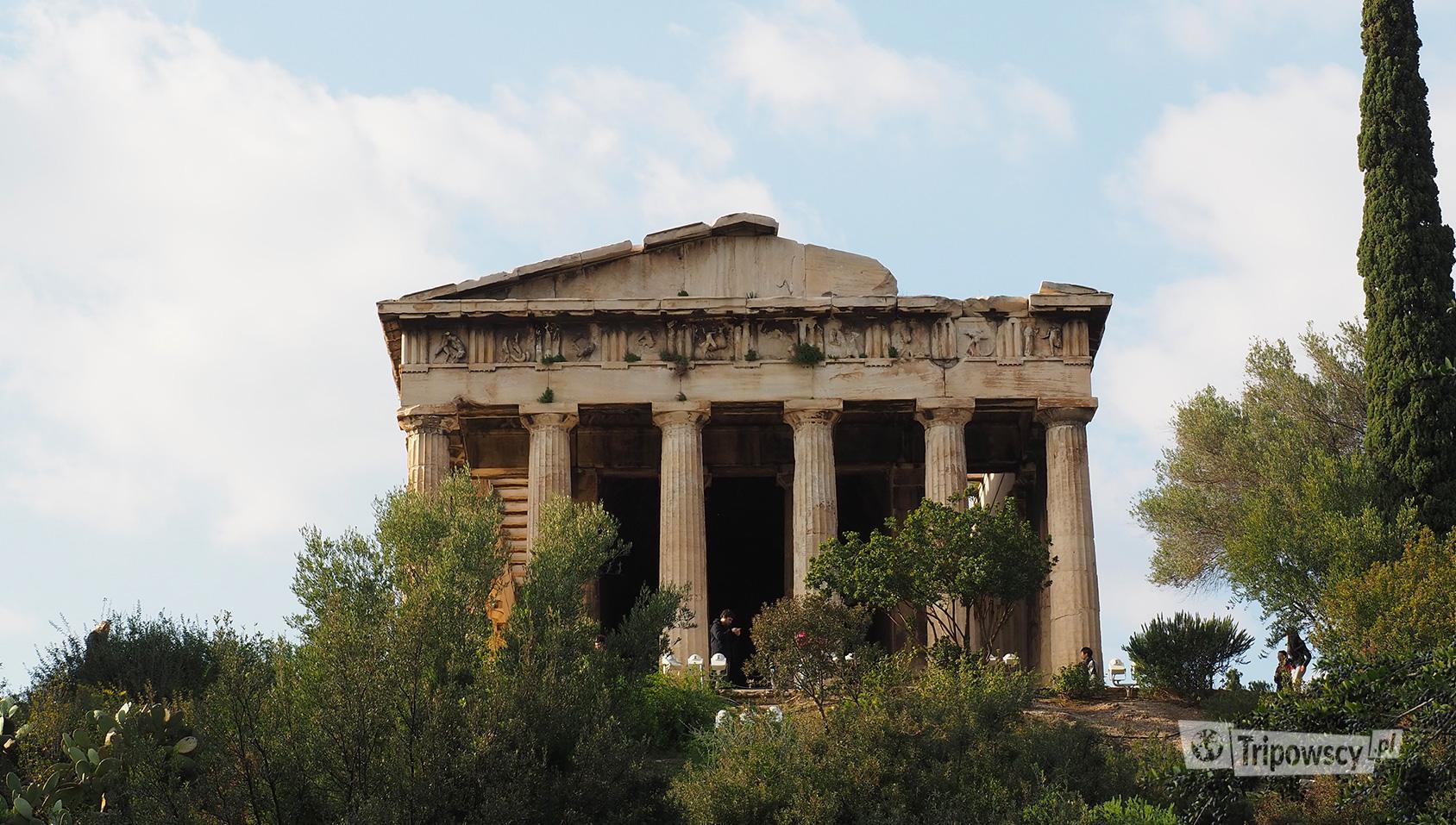 Świątynia Hefajstosa, Ateny