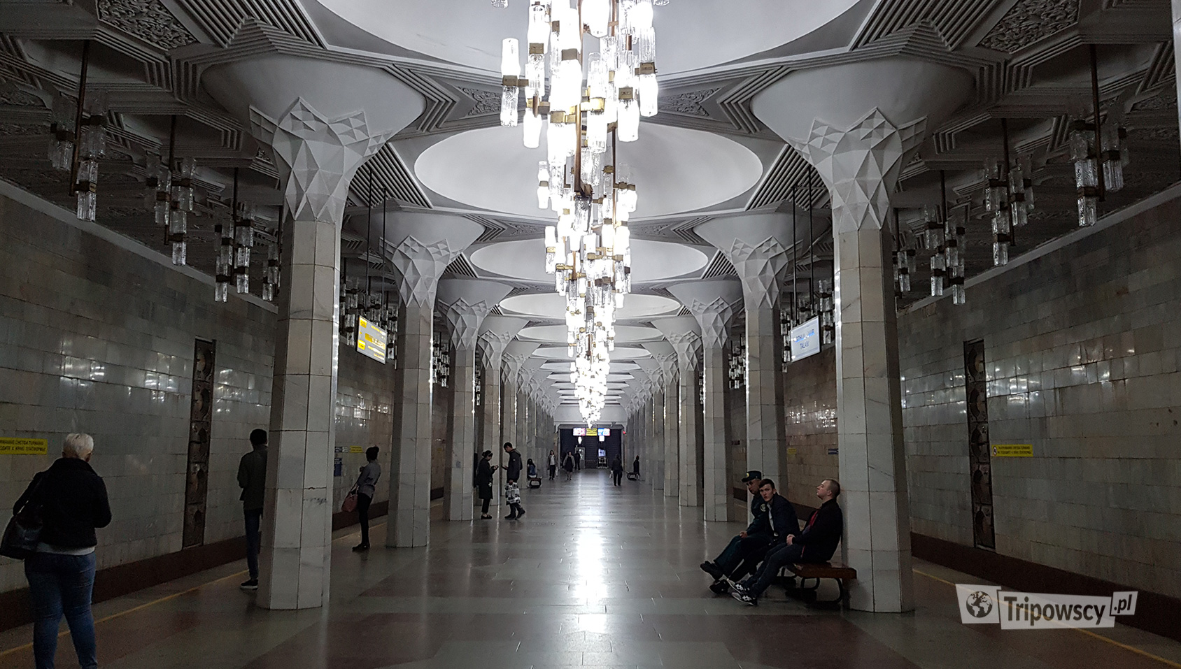 stacja metra w Taszkencie