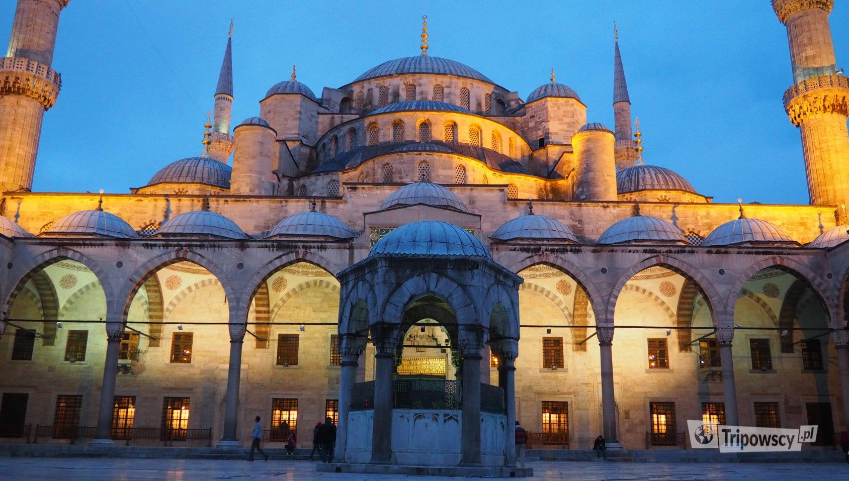 Błękitny Meczet (Blue Mosque) w Stambule